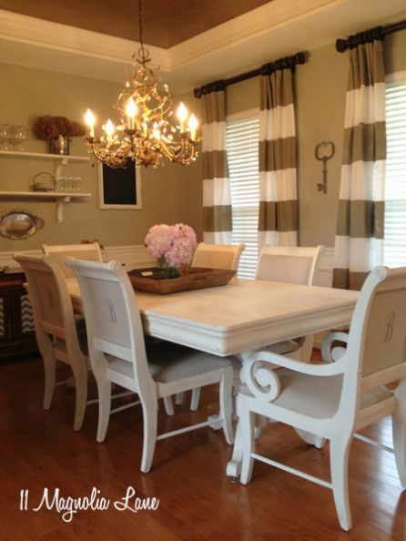 dining table makeover - after - 11 magnolia lane