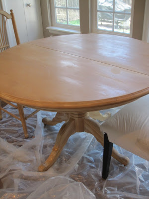 dining table makeover - before - simple details blog