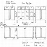 Kitchen Remodel – Finalized Design For The Wall Of Cabinets