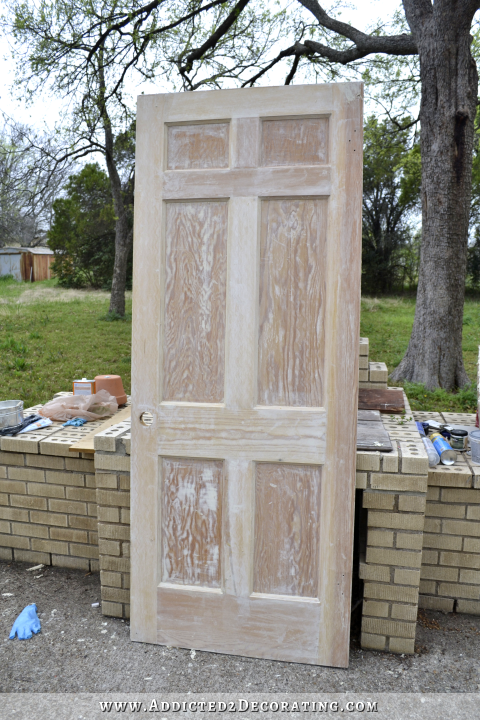 stripped and stained wood interior doors 13