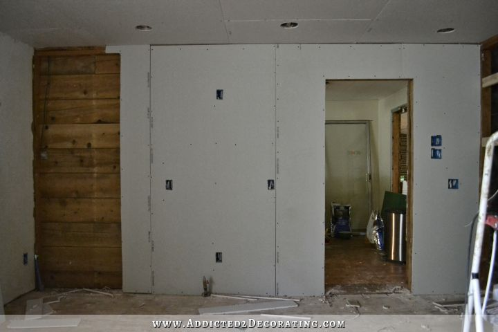 drywall on walls 1