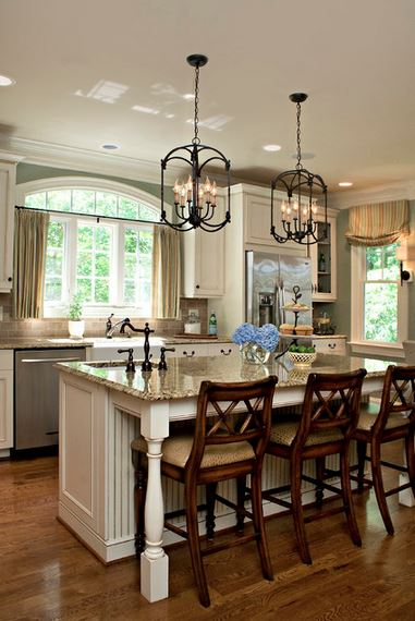 Kitchen Breakfast Bar Island Driggs Designs Via Houzz