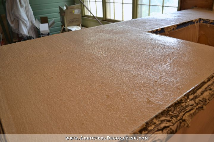 DIY concrete countertops 33