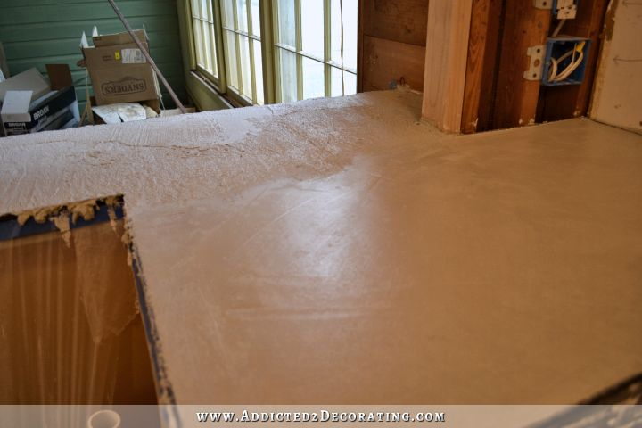 DIY concrete countertops 34