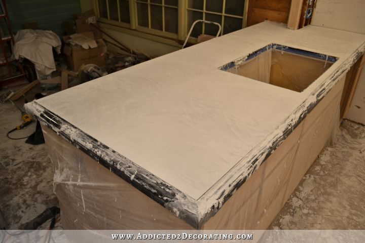DIY concrete countertops 46