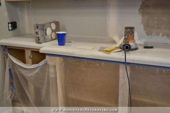 DIY concrete countertops 53