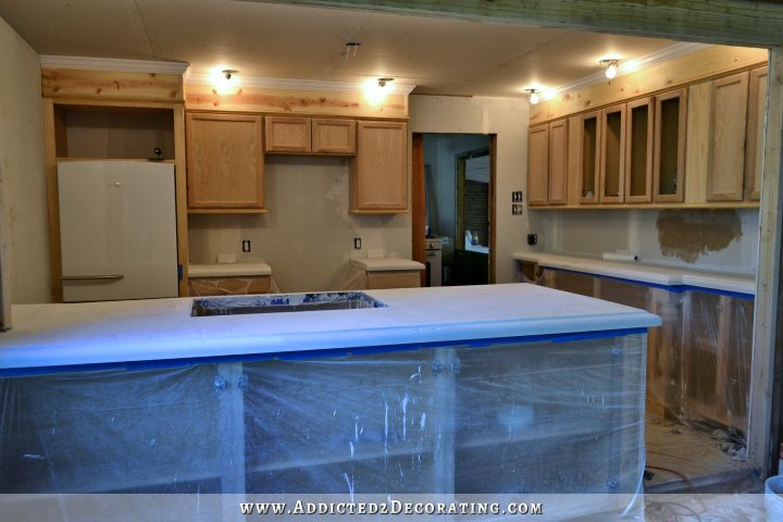 DIY concrete countertops 54
