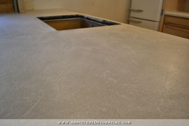 DIY concrete countertops 58