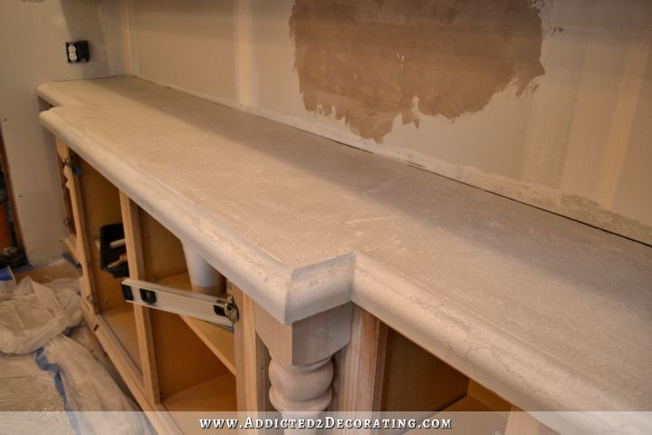 DIY concrete countertops 62
