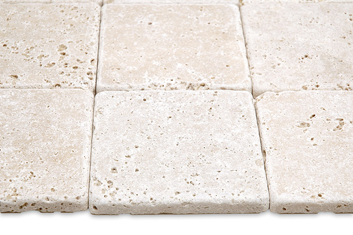 tumbled travertine tile from build direct