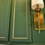 Adding Shimmer & Shine To My Cabinet Doors With Gold Leaf