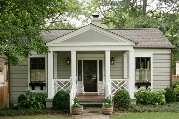 front porch design, via Houzz