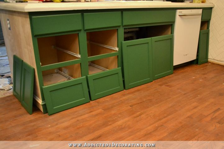 replacement kitchen cabinet doors and drawer fronts kitchen progress amp weekend heartbreak 9749