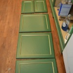 Cabinet Door Progress, Repurposing Idea, and Breakfast Room Walls