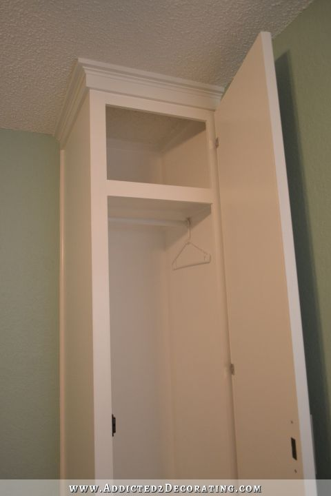 Diy Cabinet Style Built In Bedside Closets