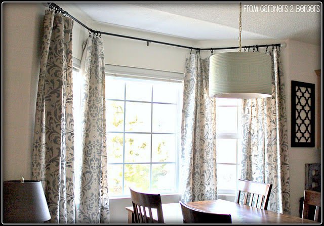 Stenciled Curtains   From Gardners To Bergers Blog Part 37