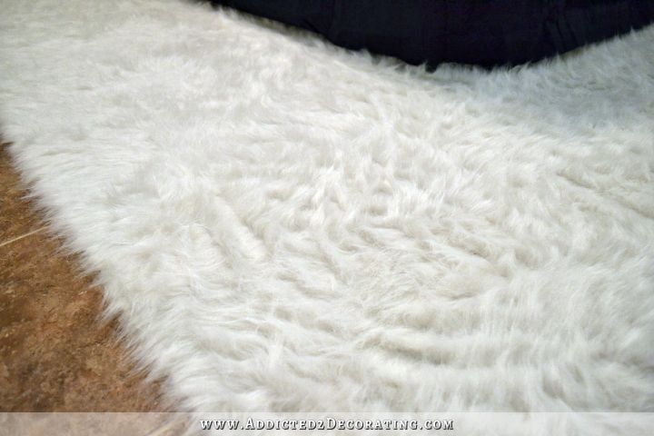 How To Make A Faux Fur Rug Diy Flokati 13a