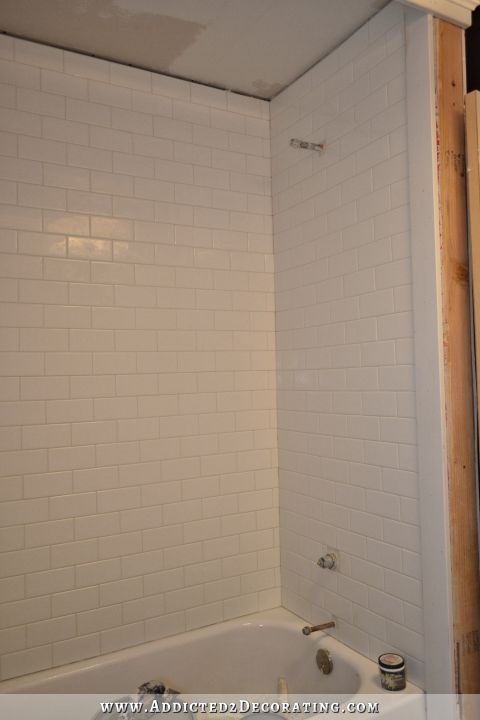 Subway Tile Bathtub Surround