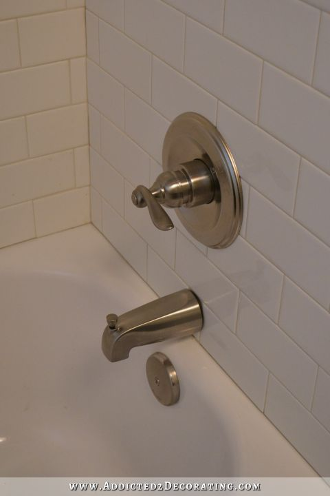 Build.com - bathtub faucet and valve from Buiild.com