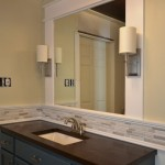 Easy DIY Vanity Mirror With Sconces
