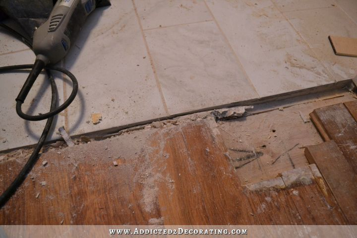Patched Hardwood Floor 5
