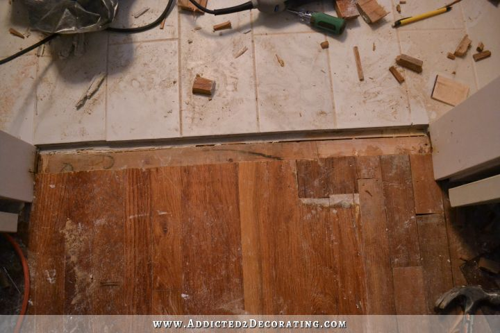 Patched Hardwood Floor 7