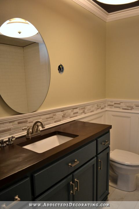 build.com faucet, sink and wall mirror