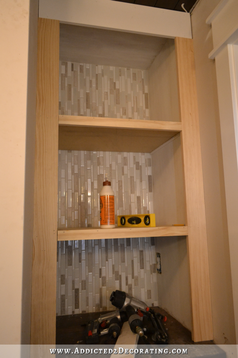 bathroom built-in storage - 15