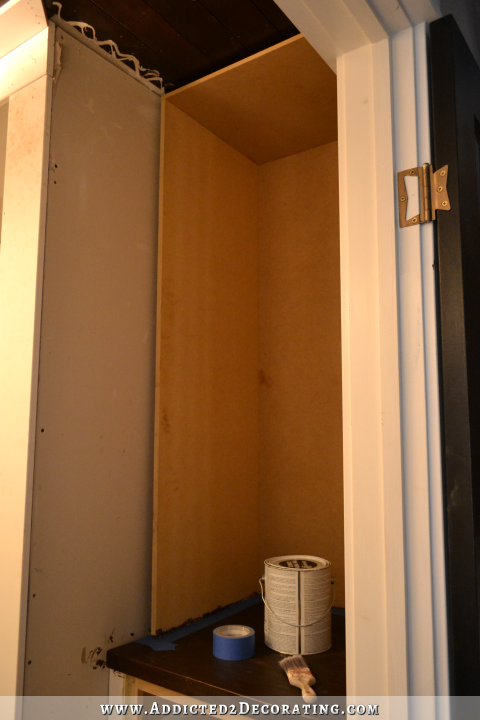 bathroom built-in storage - 8