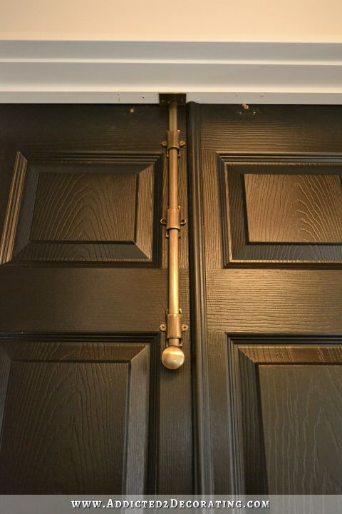 Bi Fold Closet Doors Turned Into Double Doors   9