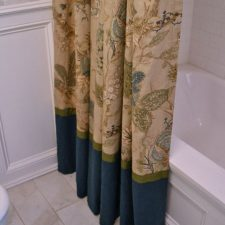 DIY decorative shower curtain 5