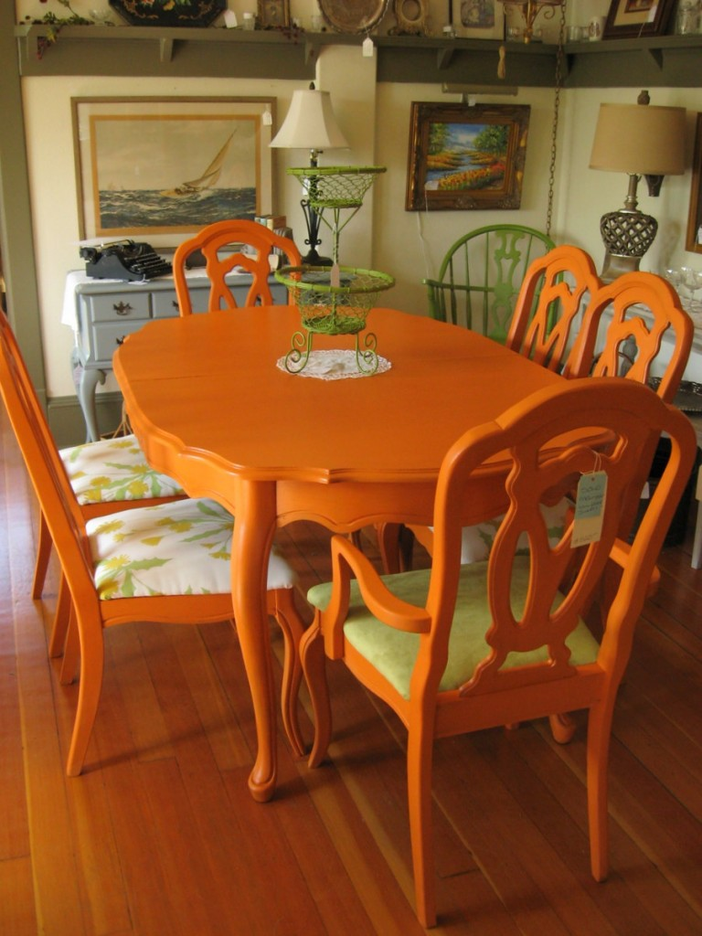 With colorful paint colors living room paint colors living room color - Colorful Painted Dining Table Inspiration