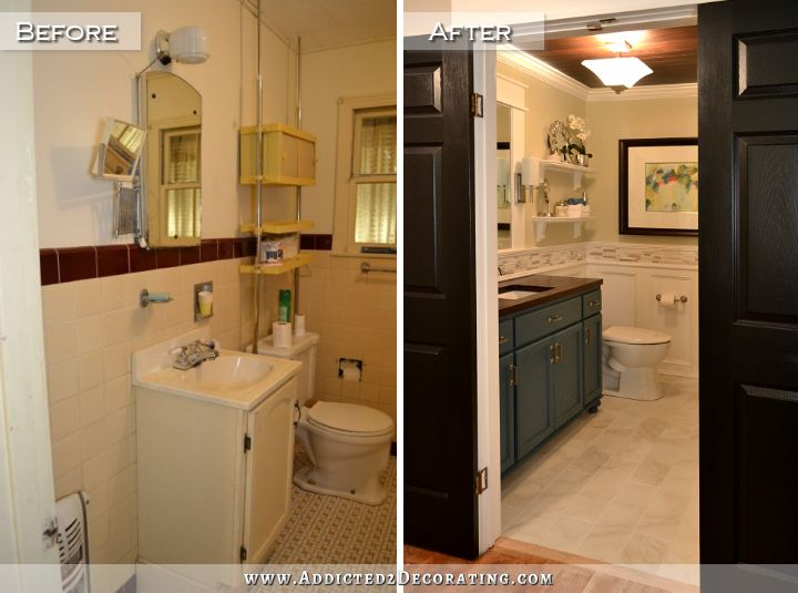 Before And After Bathroom Remodels Awesome Diy Bathroom Remodel  Before & After Design Ideas