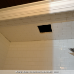 Bathroom Remodel Progress – Tiled Tub/Shower Ceiling & More