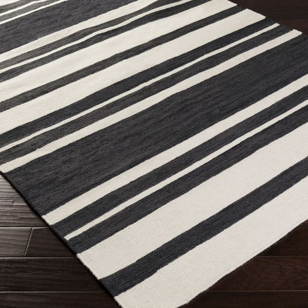 olympia flatweave striped rug 8 x 11 from overstock