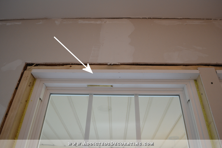 dining room - how to install trim and casing in new windows - 9
