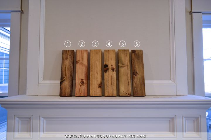 Six Ways To Stain Pine