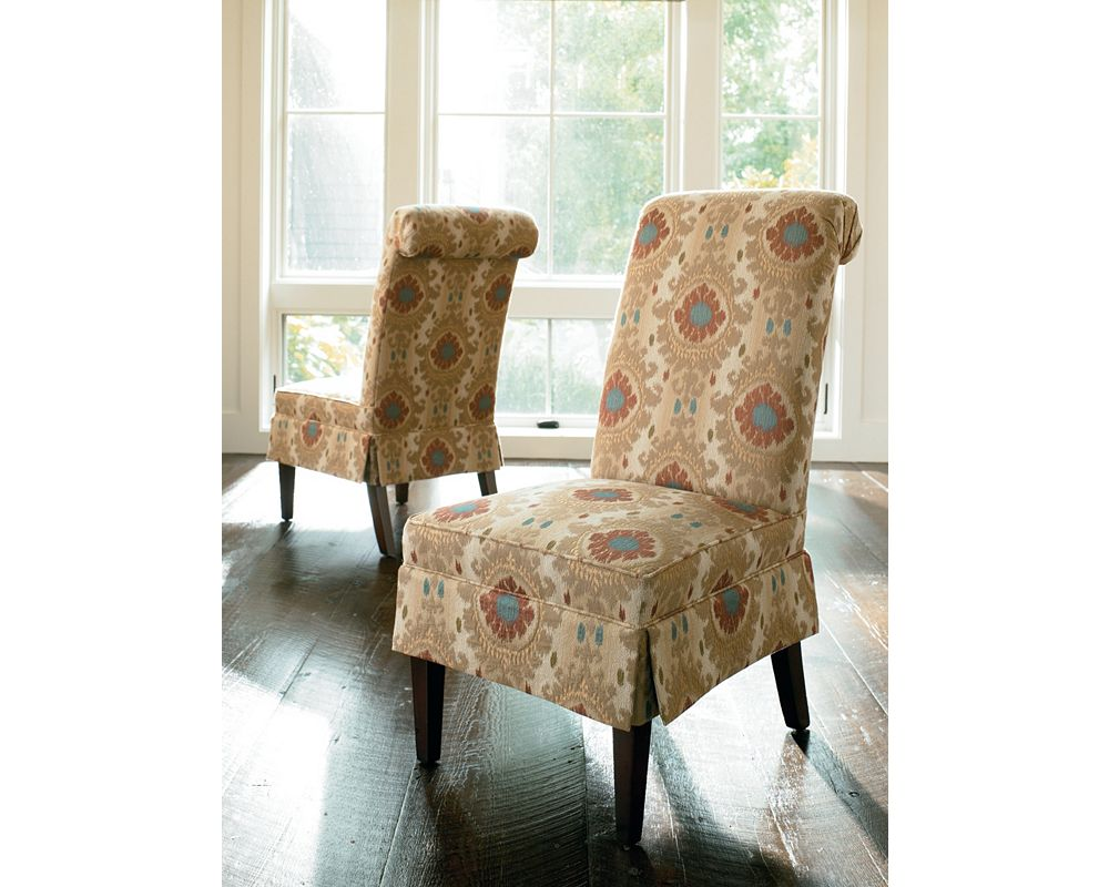 Jaydn dining chair with skirt from Thomasville