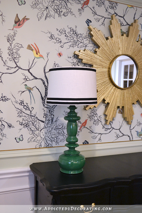 lamp makeover - from floor lamp to table lamp - 1