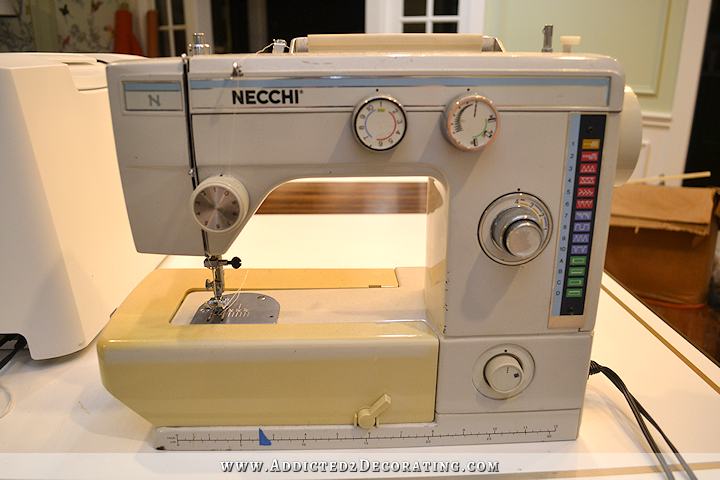 my current sewing machine - Necchi
