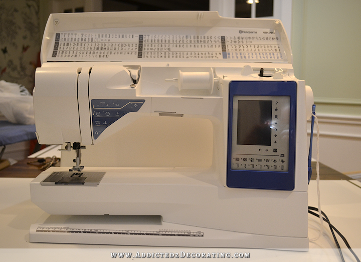 my new sewing machine - Husqvarna Viking Sapphire 960Q - 5