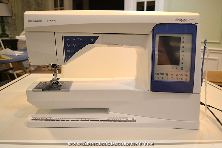 my new sewing machine - Husqvarna Viking Sapphire 960Q