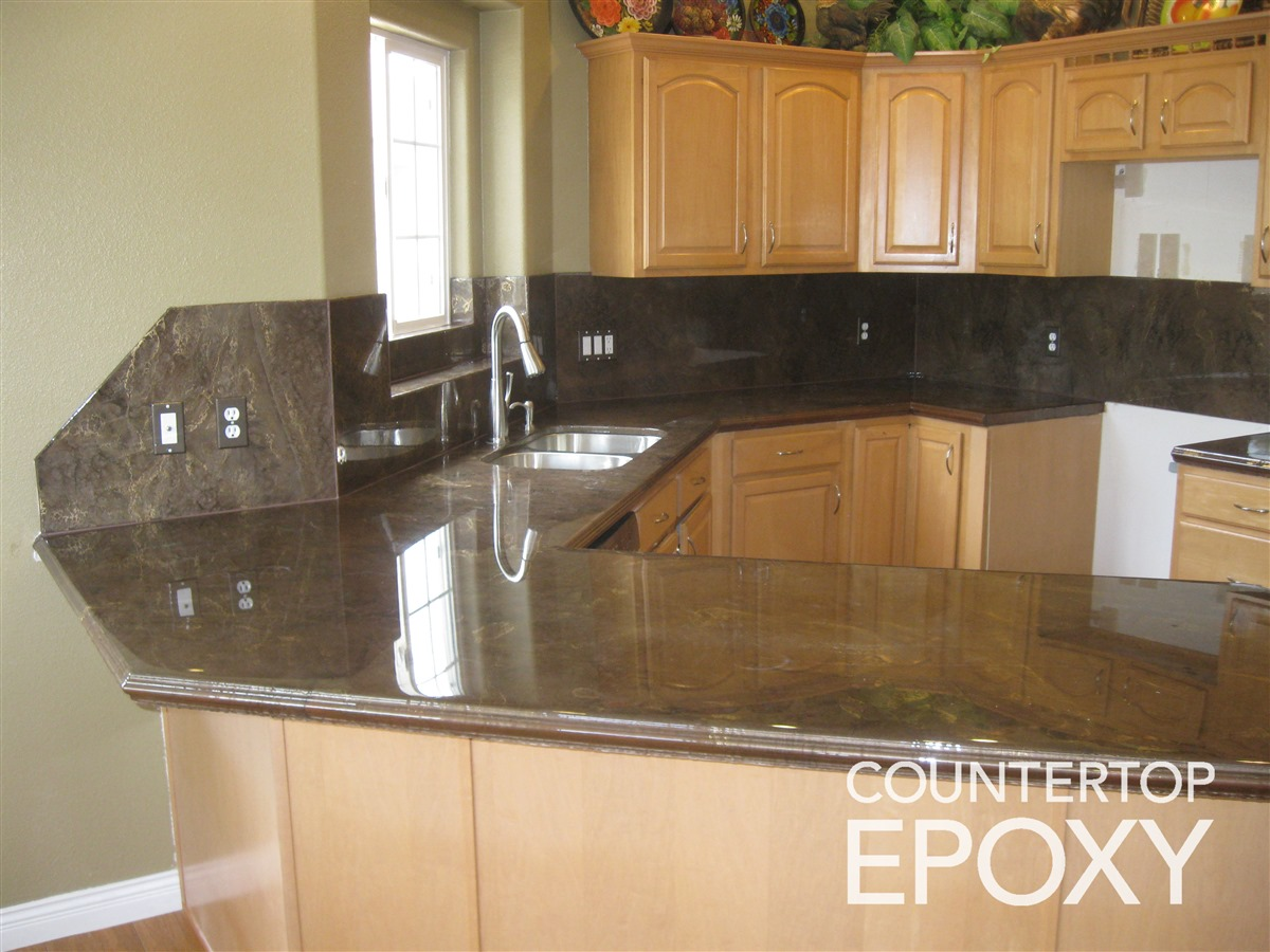 Clear Satin Epoxy Paint For Countertops : Two more countertop options epoxy and polyurea