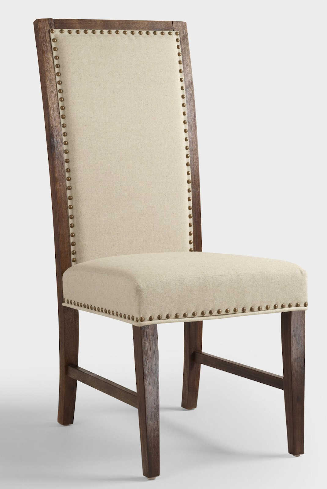 Breakfast room dining chair makeover from neutral to for Dining room end chairs
