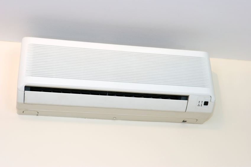 Studio hvac options central heat air vs ductless mini for Ductless ac