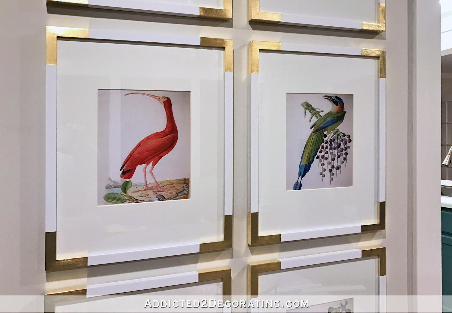gallery wal of colorful bird illustrations - 2