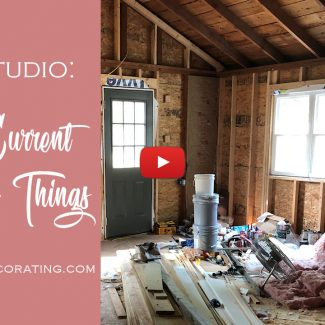 The Current State Of My Studio (The Reason For My Procrastination) [VIDEO]